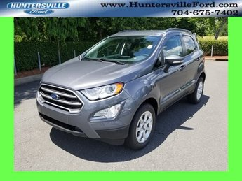 2018 Smoke Metallic Ford EcoSport SE SUV Automatic I4 Engine 4X4
