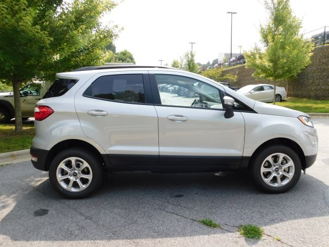 2018 Moondust Silver Metallic Ford EcoSport SE Automatic I4 Engine SUV 4 Door