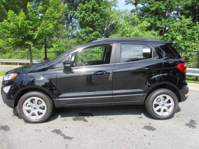 2018 Shadow Black Ford EcoSport SE 4X4 SUV Automatic 4 Door I4 Engine