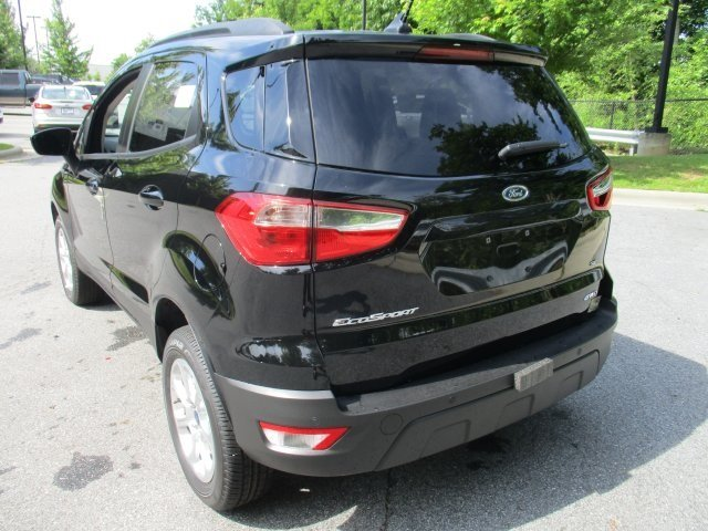 2018 Shadow Black Ford EcoSport SE 4X4 I4 Engine Automatic SUV