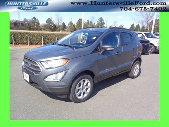 2018 Smoke Metallic Ford EcoSport SE 4X4 I4 Engine 4 Door Automatic