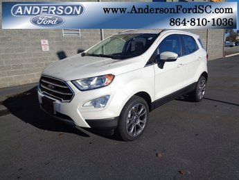 2018 Ford EcoSport Titanium I4 Engine SUV 4 Door Automatic 4X4