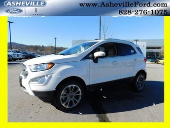 2018 Ford EcoSport Titanium 4X4 4 Door SUV I4 Engine Automatic