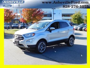 2018 Moondust Silver Metallic Ford EcoSport Titanium I4 Engine 4X4 4 Door