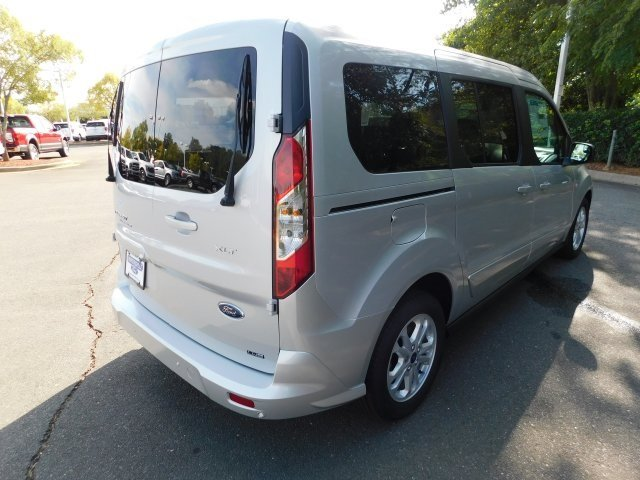 2019 Diffused Silver Metallic Ford Transit Connect XLT I4 Engine Automatic FWD Van
