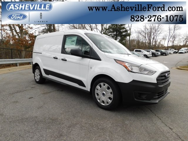 2019 Frozen White Metallic Ford Transit Connect XL FWD I4 Engine Van 4 Door Automatic