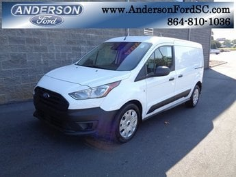 2019 Frozen White Ford Transit Connect XL Van I4 Engine 4 Door Automatic