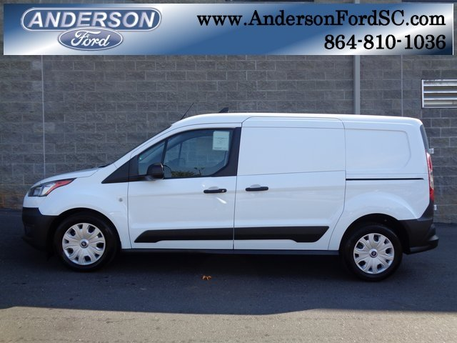 2019 Frozen White Ford Transit Connect XL Van 4 Door Automatic I4 Engine FWD