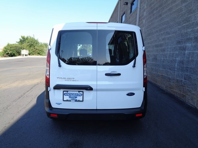 2019 Frozen White Ford Transit Connect XL I4 Engine FWD 4 Door Automatic Van