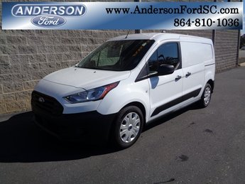 2019 Frozen White Ford Transit Connect XL I4 Engine FWD Van 4 Door Automatic