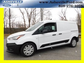 2019 Frozen White Ford Transit Connect XL Van 4 Door FWD I4 Engine