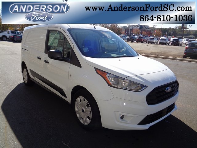 2019 Frozen White Ford Transit Connect XLT Van I4 Engine 4 Door Automatic