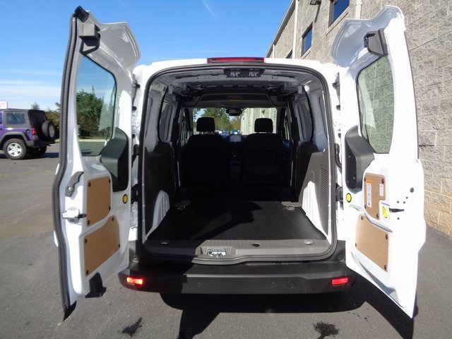 2019 Frozen White Ford Transit Connect XLT Van Automatic FWD I4 Engine 4 Door