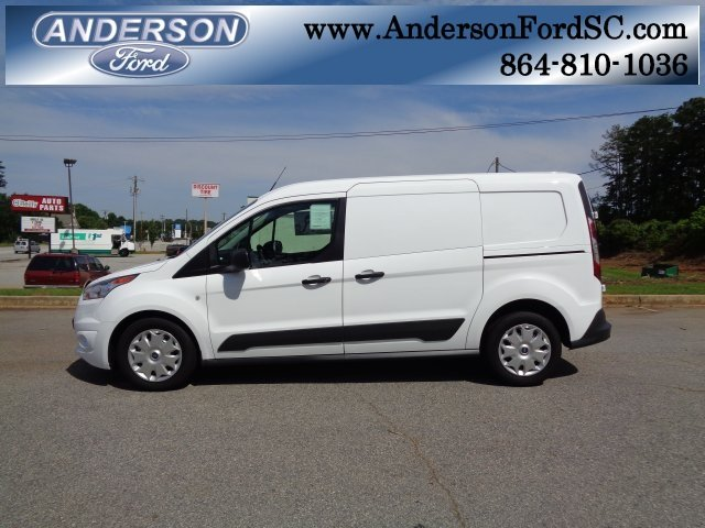 2018 Frozen White Ford Transit Connect XLT 4 Door 2.5L I4 iVCT Engine Automatic