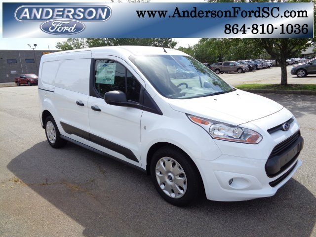 2018 Frozen White Ford Transit Connect XLT FWD 4 Door 2.5L I4 iVCT Engine Automatic