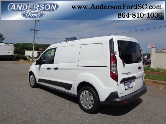 2018 Frozen White Ford Transit Connect XLT FWD 4 Door Van