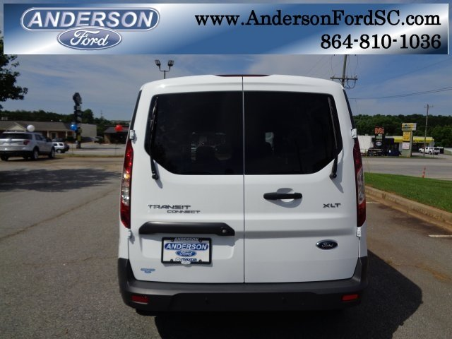 2018 Frozen White Ford Transit Connect XLT 4 Door FWD Automatic Van 2.5L I4 iVCT Engine