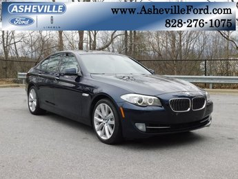 2012 Imperial Blue Metallic BMW 5 Series 535i RWD 3.0L I6 DOHC 24V TwinPower Turbo Engine 4 Door Manual