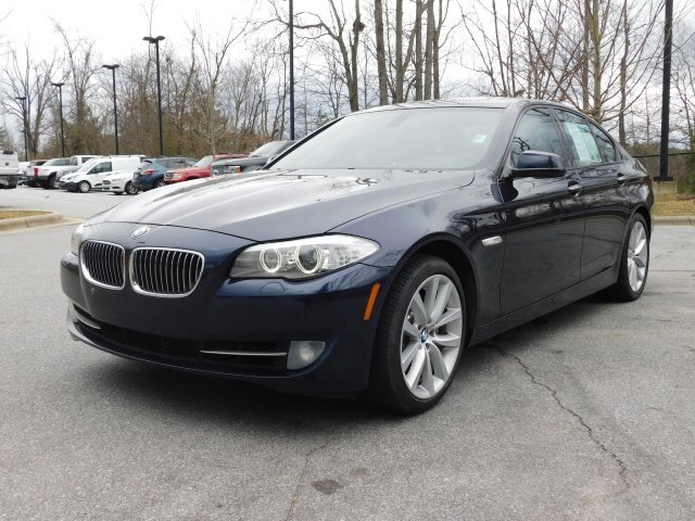 2012 BMW 5 Series 535i Sedan 4 Door RWD