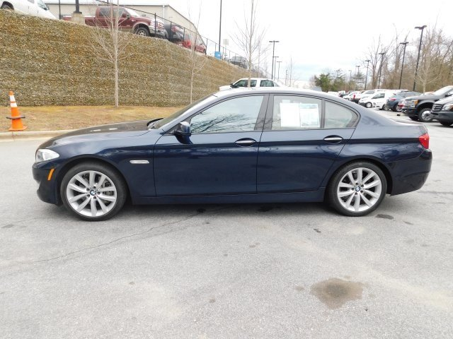 2012 Imperial Blue Metallic BMW 5 Series 535i 3.0L I6 DOHC 24V TwinPower Turbo Engine 4 Door RWD Sedan