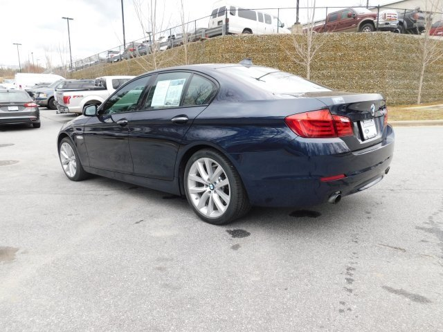 2012 Imperial Blue Metallic BMW 5 Series 535i 3.0L I6 DOHC 24V TwinPower Turbo Engine RWD Manual