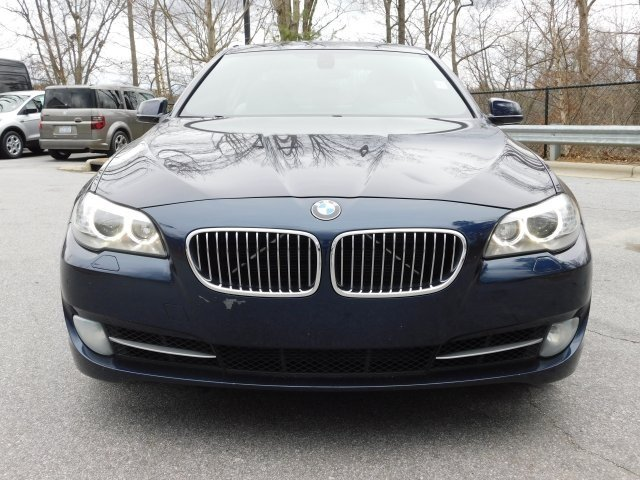 2012 Imperial Blue Metallic BMW 5 Series 535i Sedan 4 Door 3.0L I6 DOHC 24V TwinPower Turbo Engine RWD Manual