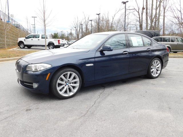 2012 Imperial Blue Metallic BMW 5 Series 535i 4 Door Sedan Manual