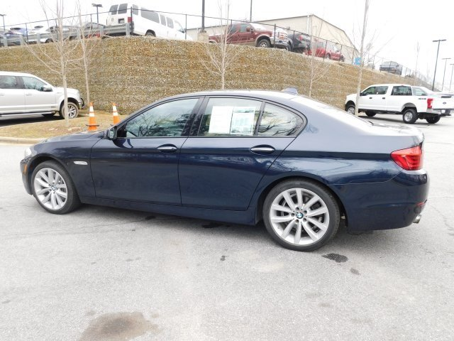 2012 Imperial Blue Metallic BMW 5 Series 535i Sedan RWD 4 Door Manual 3.0L I6 DOHC 24V TwinPower Turbo Engine