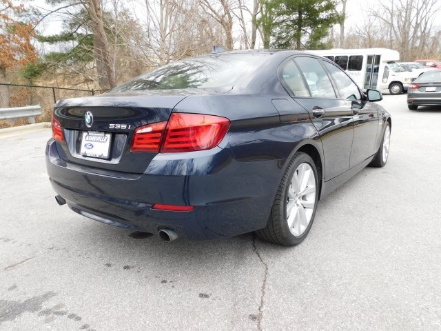 2012 BMW 5 Series 535i Sedan 4 Door RWD Manual