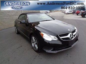 2014 Black Mercedes-Benz E-Class E 350 Automatic 3.5L V6 DOHC Direct Injection Engine RWD 2 Door