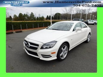 2012 Diamond White Metallic Mercedes-Benz CLS CLS 550 Sedan 4 Door 4.7L V8 DGI DOHC 32V Twin Turbocharged Engine RWD Automatic