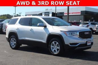 2019 Quicksilver Metallic GMC Acadia SLE 4 Door AWD 2.5L 4 cyls Engine Automatic