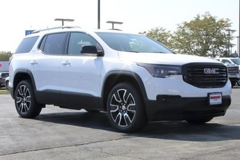 2019 Summit White GMC Acadia SLT 3.6L V6 Engine SUV AWD 4 Door