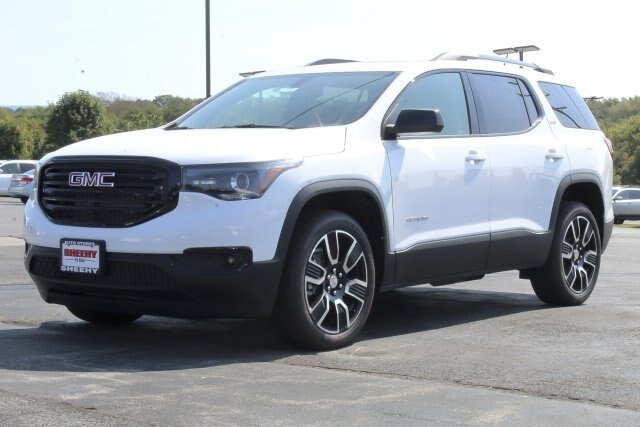 2019 Summit White GMC Acadia SLT SUV Automatic 3.6L V6 Engine 4 Door