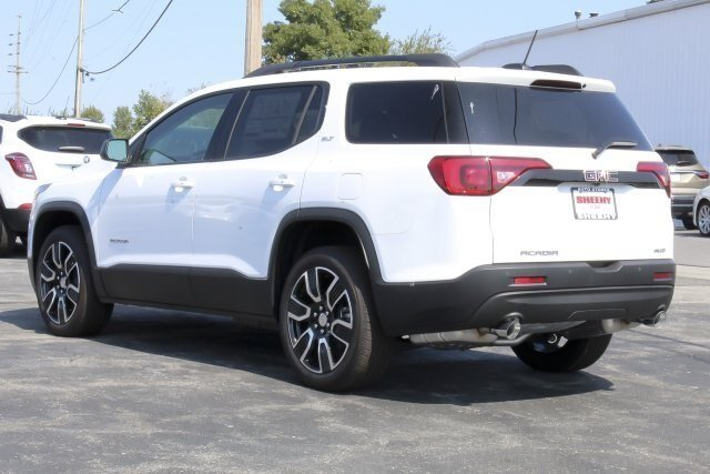 2019 Summit White GMC Acadia SLT 4 Door AWD SUV