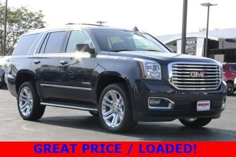 2019 Dark Sapphire Blue Metallic GMC Yukon SLT 4 Door SUV Automatic 5.3L V8 Engine