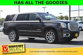 2015 Iridium Metallic GMC Yukon Denali SUV 6.2L V8 Engine 4 Door Automatic 4X4