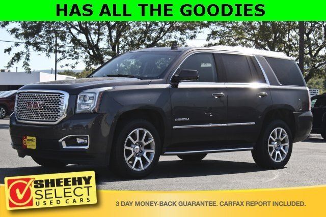 2015 Iridium Metallic GMC Yukon Denali 6.2L V8 Engine SUV 4X4 4 Door