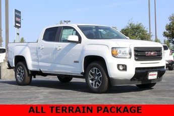 2019 Summit White GMC Canyon 4WD All Terrain w/Cloth 4 Door Automatic 4X4