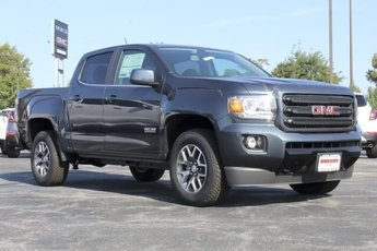 2019 Dark Sky Metallic GMC Canyon 4WD All Terrain w/Leather 4 Door Automatic 3.6L V6 Engine 4X4
