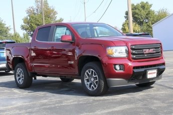 2019 Red Quartz Tintcoat GMC Canyon 4WD All Terrain w/Leather 4 Door 4X4 Truck