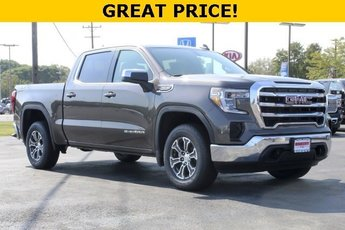 2019 Smokey Quartz Metallic GMC Sierra 1500 SLE 4 Door Truck Automatic 4X4 5.3L V8 Engine