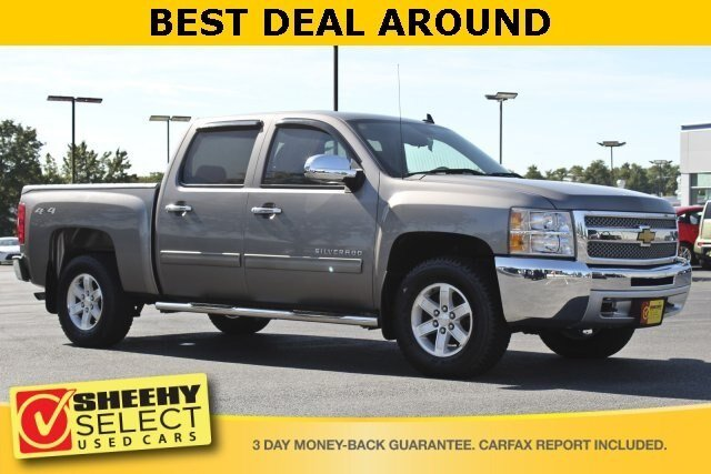 2013 Graystone Metallic Chevy Silverado 1500 LT 4X4 4.8L V8 Engine Automatic 4 Door Truck