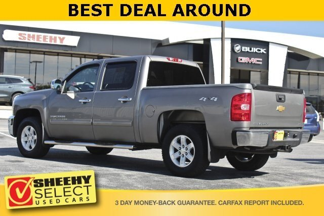 2013 Chevy Silverado 1500 LT Truck 4X4 4 Door Automatic 4.8L V8 Engine
