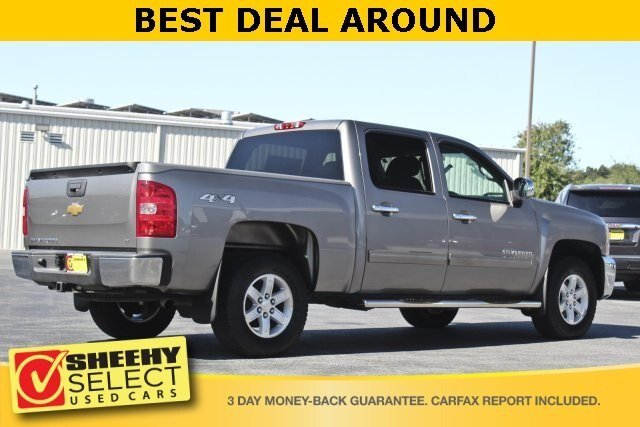 2013 Graystone Metallic Chevy Silverado 1500 LT Truck 4.8L V8 Engine 4 Door