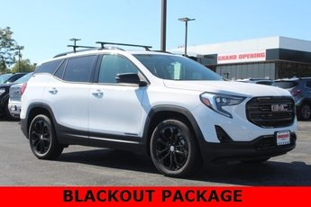 2019 Summit White GMC Terrain SLT 2.0L 4 cyls Engine 4 Door SUV