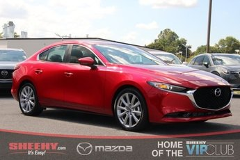 2019 Soul Red Crystal Metallic Mazda Mazda3 w/Select Pkg FWD 2.5L 4 cyls Engine Sedan Automatic