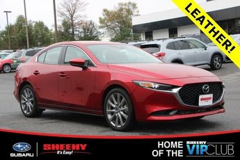 2019 Soul Red Crystal Metallic Mazda Mazda3 w/Preferred Pkg 4 Door Sedan FWD Automatic