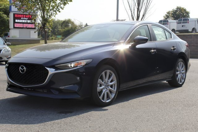 2019 Deep Crystal Blue Mica Mazda Mazda3 w/Preferred Pkg Automatic 2.5L 4 cyls Engine Sedan