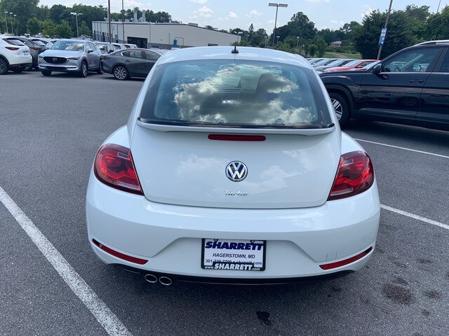 2019 Pure_white Volkswagen Beetle S 2 Door 2.0L 4 cyls Engine Automatic FWD